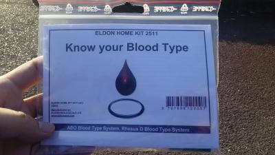 血液型検査キット 説明書